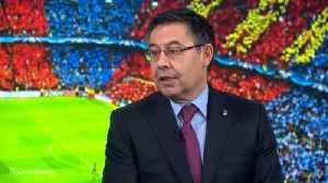 News video: FC Barcelona's Bartomeu Wants to Be a Universal Club