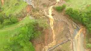 News video: Storm-triggered landslides cut off thousands in New Zealand's South Island