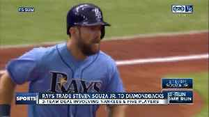 News video: 3-team trade sends Steven Souza Jr. to Diamondbacks, Brandon Drury to Yankees, prospects to Rays