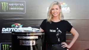 News video: Charlize Theron ready to wave the green flag for the Daytona 500