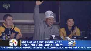 News video: Steelers' Shazier Opens Up About Injury To Teammate