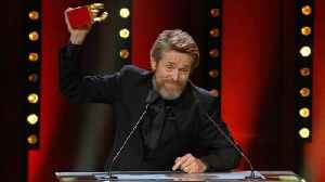 News video: Willem Dafoe rewarded at Berlinale for life's work