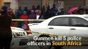 News video: Gunmen kill five police officers in South Africa