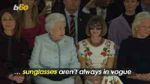 News video: Anna Wintour Throws Shade at Queen Elizabeth II During Fashion Show