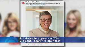 News video: Bill Gates Set To Guest Star In 'The Big Bang Theory'