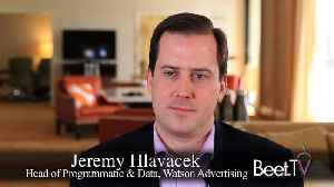 News video: Watson Advertising: Traditional Publishing Plus 'A Lot of New Data And Technology Assets': Jeremy Hlavacek