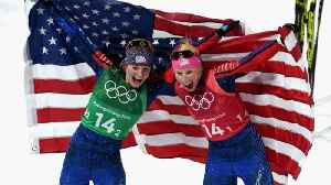 News video: American Cross-Country Skiers Win Historic Olympic Gold
