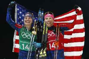News video: U.S. Earns First-Ever Gold Medal in Cross-Country Skiing