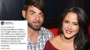 News video: 'Teen Mom' Star Jenelle Evans' Husband FIRED from Show After Homophobic Twitter Rant
