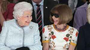 News video: Queen Elizabeth Makes A Rare Appearance at London Fashion Week