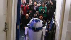 News video: Droids From 'Star Wars' Inspire Real-World Robot Engineering