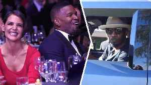 News video: Jamie Foxx & Taye Diggs – No More White Girls For Us!