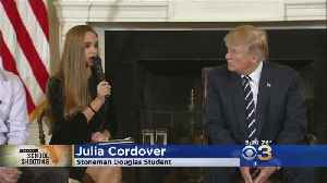News video: Students, Parents Meet With Trump At White House In Wake Of Florida School Shooting