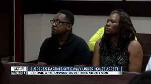 News video: Parents of accused Seminole Heights killer officially under house arrest