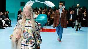News video: Gucci models carried fake human heads of themselves, and it will give you nightmares