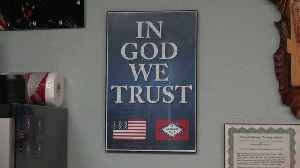 News video: Arkansas Schools to Display 'In God We Trust' Posters After New Law Passes