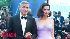 News video: George Clooney and wife Amal donate $500k to anti-gun violence protest