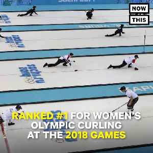 News video: 'Garlic Girls' From South Korea Taking Over Olympics Women's Curling