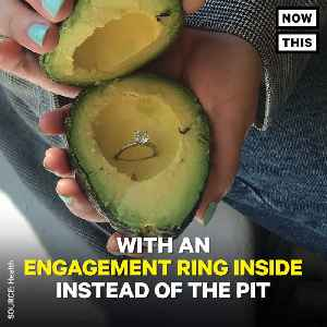 News video: People Are Hiding Engagement Rings In Avocados