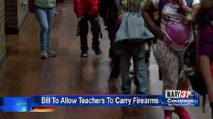 News video: State Rep. Introduces Bill to Arm Teachers