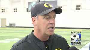 News video: Web Extra: Mike White speaks before Tuesday's practice