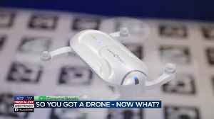 News video: Consumer Reports: So you got a drone - now what?