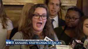 News video: Madison students raise gun control issues at Capitol