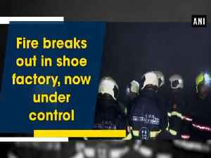 News video: Fire breaks out in shoe factory, now under control