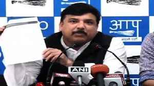 News video: AAP Leaders Hold Press Conference Against Delhi Lt Governor