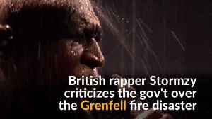 News video: British rapper criticizes government response to Grenfell