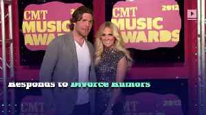 News video: Carrie Underwood's Husband Responds to Divorce Rumors