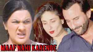 News video: Kareena Kapoor Saif Ali Khan ANGRY on Abhishek Kapoor over RUINING Sara Ali Khan's Kedarnath