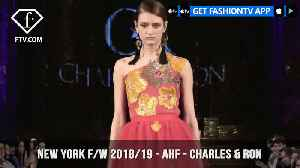 News video: New York Fashion Week Fall/Winter 18 19 - Art Hearts Fashion - Charles & Ron  | FashionTV | FTV