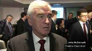 News video: McDonnell: Customs union should be an option for UK