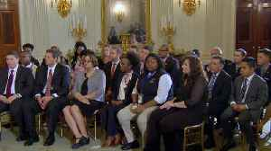 News video: Eye Opener: Parents, survivors of mass shootings sit down with Trump