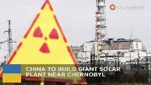 News video: China is building a giant solar power plant near Chernobyl