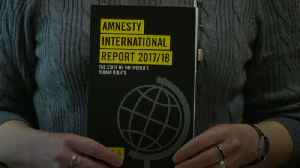 News video: Amnesty accuses President Trump of human rights violations