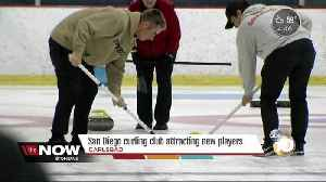 News video: Local curling club attracting new players