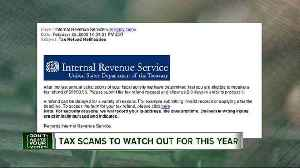 News video: 4 slick tax scams to watch out for this year