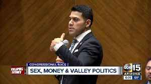 News video: Congressional candidate calls accusations of inappropriate text messages 'false tabloid trash'
