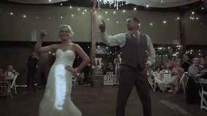 News video: Incredible father & daughter wedding dance routine