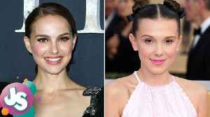 News video: Natalie Portman Reacts to Millie Bobby Brown Being Named Her Doppelganger - JS