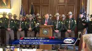 News video: NH state troopers praised for Puerto Rico relief efforts