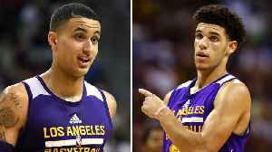 "News video: Lonzo Ball Called ""DISGUSTING"" by Teammate Kyle Kuzma Over His Big Baller Business Practices"