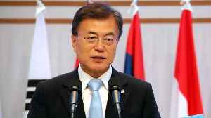 "News video: South Korea's Moon Says Relations With US Are ""Rock Solid"""