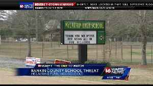 News video: 2 bogus school threats reported at schools in Rankin County