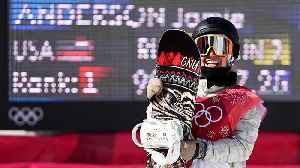News video: American Jamie Anderson Takes Silver in Snowboarding Big Air