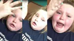 News video: Mama June's Daughter Honey Boo Boo, 12, Denies 'Acting Black': 'You Can't Act a Color'