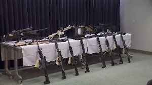 News video: Father-Daughter Pair Charged After Massive Illegal Weapons Cache Found in California Home