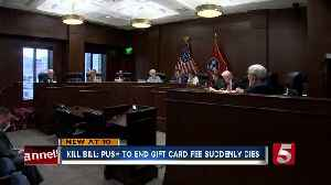 News video: Bill To Eliminate Gift Card Fee Suddenly Dies In House Subcommittee
